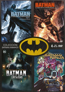 Dvd - Coleccion Batman Animado - 4 Discos