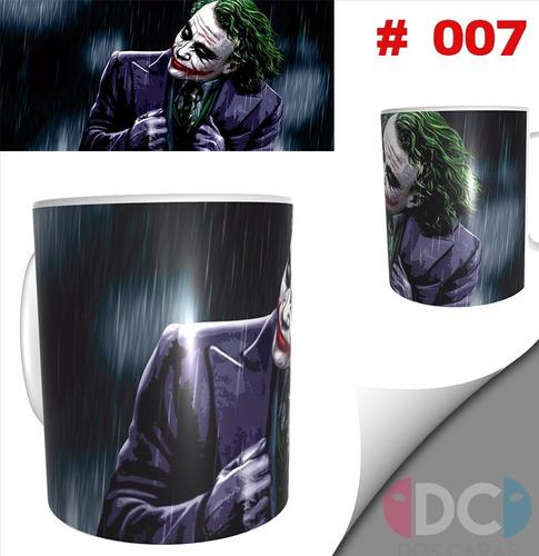 Taza Comics Coleccionables Joker Heath Ledger #007
