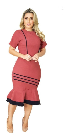 Kit 6 Vestidos Feminino Mide Moda Evangelica No Atacado