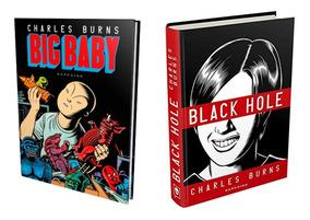 Livro Big Baby + Black Hole - Darkside - Charles Burns