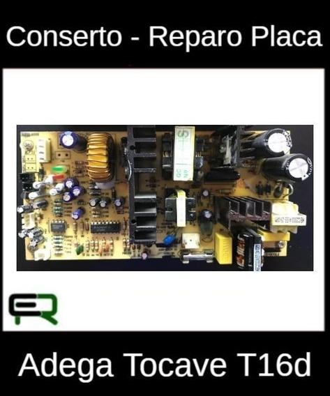 Conserto - Reparo Placa Adega Tocave T16d
