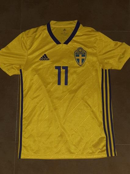 Camiseta Suecia Larsson Envió Gratis