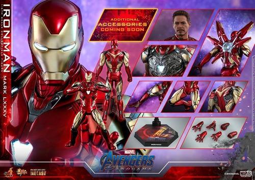 Hot Toys Iron Man Ironman Mark 85 Endgame Diecast 1/6 Fpx