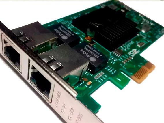 Intel Ethernet Dual Port Lan 82576eb-2t Gigabit Pcie.