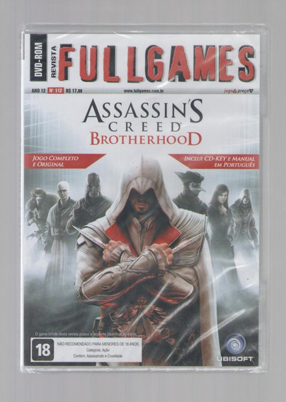Jogo Original Assassins Creed Brotherhood - Envio Imediato