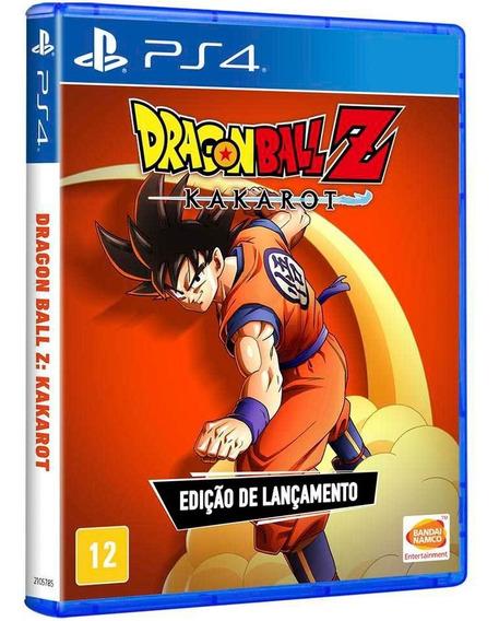 Dragon Ball Z: Kakarot Ed Lançamento Ps4 Mídia Física