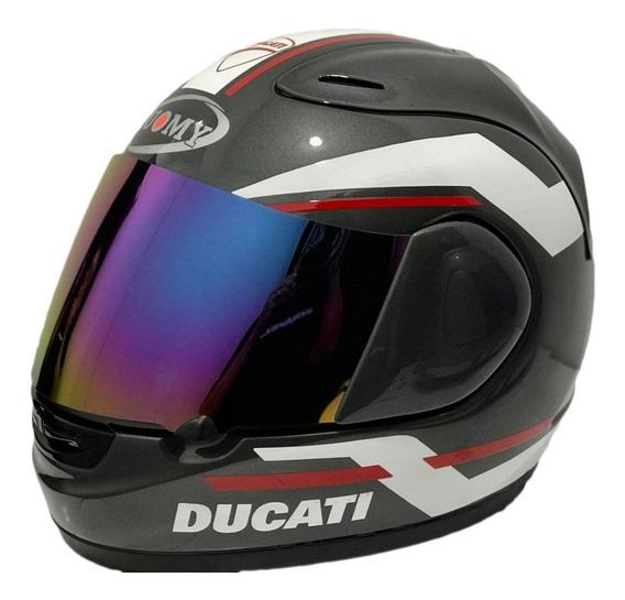 Casco Moto Ducati Suomy Edicion Limitada Italiano Motoscba O