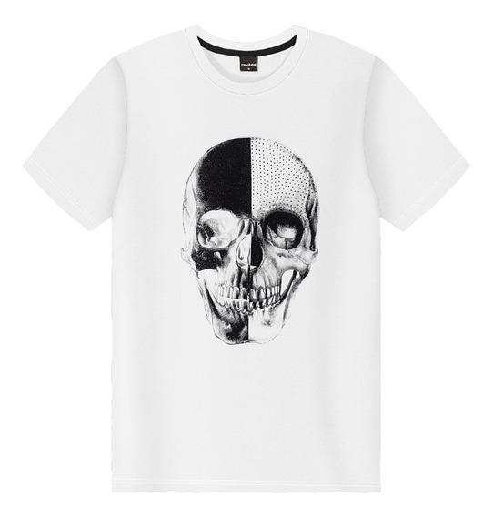 Camiseta Juvenil Masculina Rovitex Teen Branco