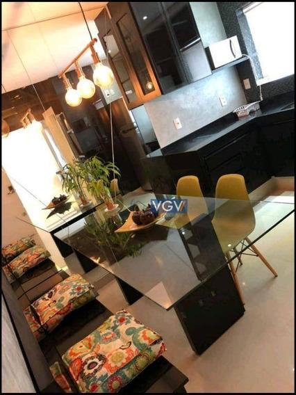 Flat Com 1 Dormitório Para Alugar, 33 M² Por R$ 3.900/mês - Brooklin Paulista - São Paulo/sp - Fl0006