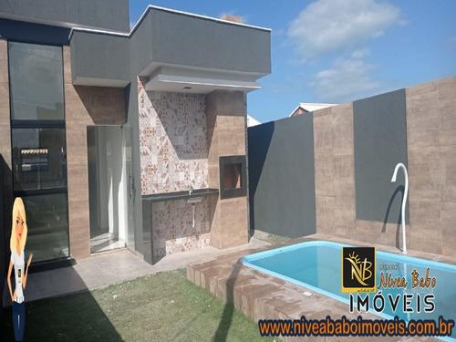 Imagem 1 de 14 de Casa Em Unamar Cabo Frio Casa Super Linda Em Unamar Cabo Frio Região Dos Lagos - Vcac 372 - 69477972