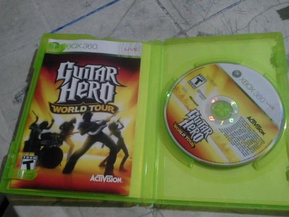 Guitar Hero World Tour - Original Para Xbox 360 Mídia Física