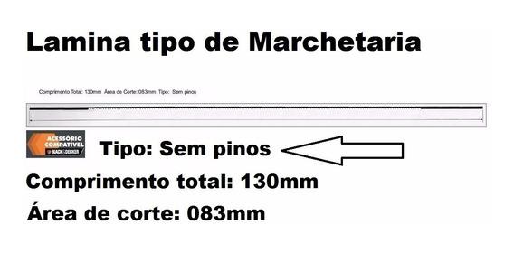 36 Lâmina Serra Tico 130mm Sem Pino Nº1 Nº4 Nº8 523