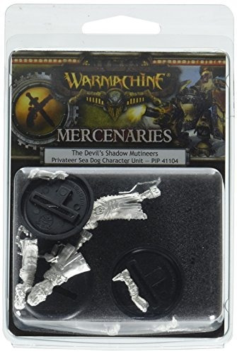 Privateer Press War Machine Mercenaries Devils Shadow Mutine