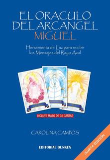 Libro El Oráculo Del Arcángel Miguel + Mazo 35 Cartas 4ta Ed