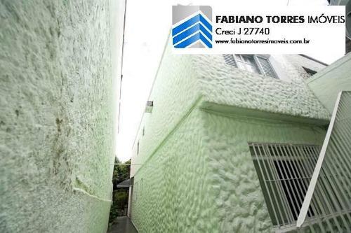 Sobrado Para Venda Em Santo André, Palmares, 3 Dormitórios, 2 Banheiros, 2 Vagas - 1444_2-613322