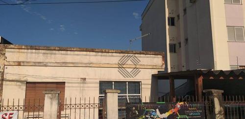 Excelente Terreno 700 M2 Com Casa Antiga Para Prédio No Campolim, Perto Das Avenidas Principais - Parque Campolim - Sorocaba/sp - Ca7456
