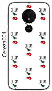 Funda Motorola Moto G7 Power G7 Play G7 Cerezas Frutas