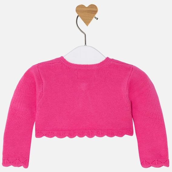 Torera/suéter Mayoral Bebé Niña Est. 306, 6m Rosa, Fucsia