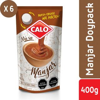 Pack 6 - Calo Doypack De Manjar 400 G