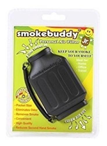Filtro De Aire Personal Negro Jr Smokebuddy
