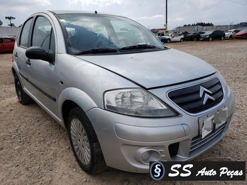 Sucata Citroën C3 2011 - Somente Retirar Peças