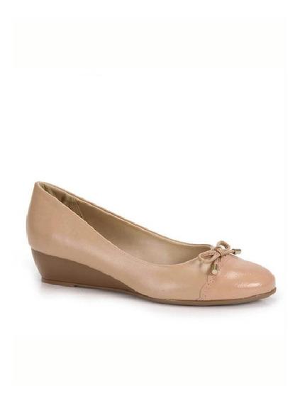 Sapato Fem. Azaleia Ref.634/829 Nude