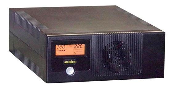 Ups Inversor Atomlux Inv800l 800va 220v Bateria Externa Pce
