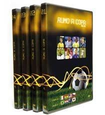 Dvd Original Filme Rumo À Copa Do Mundo Futebol - 04 Volumes
