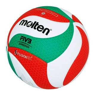 Balón Voleibol # 5 Profesional 5000 Cuero Composite Molten
