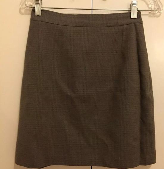 Falda Vestir Mujer Oficina Recta Talle M