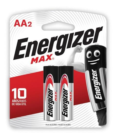 Pila Alcalina Aa Energizer Blister X2