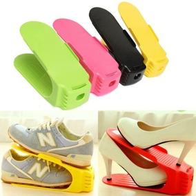Organizador De Sapatos E Sandalias - Kit Com 12 Peças