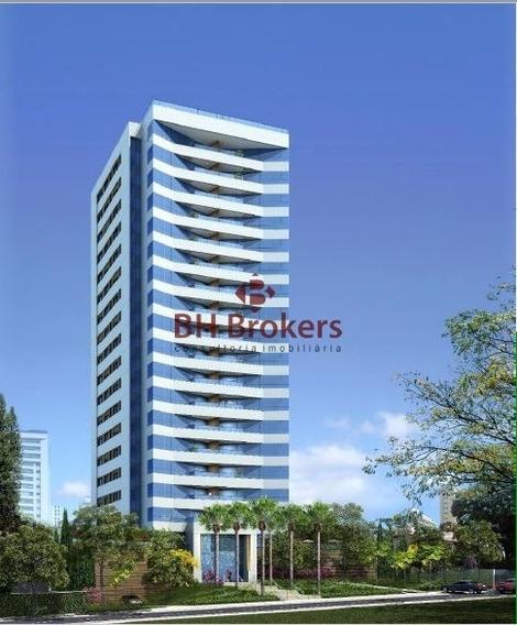 Apartamento Com 4 Quartos Para Comprar No Sion Em Belo Horizonte/mg - 13175
