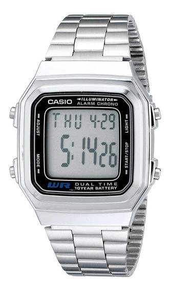 Relógio Casio Unissex Vintage -a178wa-1- Original - S Caixa