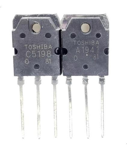Par De Transistores A1941 C5198 2sa1941 2sc5198 To-3p Nuevos
