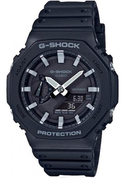 Relógio Casio G-shock Ga-2100-1adr Carbon Core Guard
