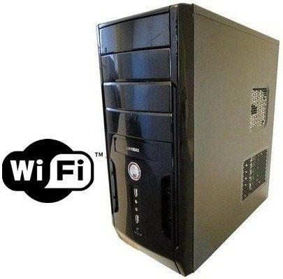 Cpu Torre Intel Core 2 2gb Hd 80gb Leitor Dvd Wifi