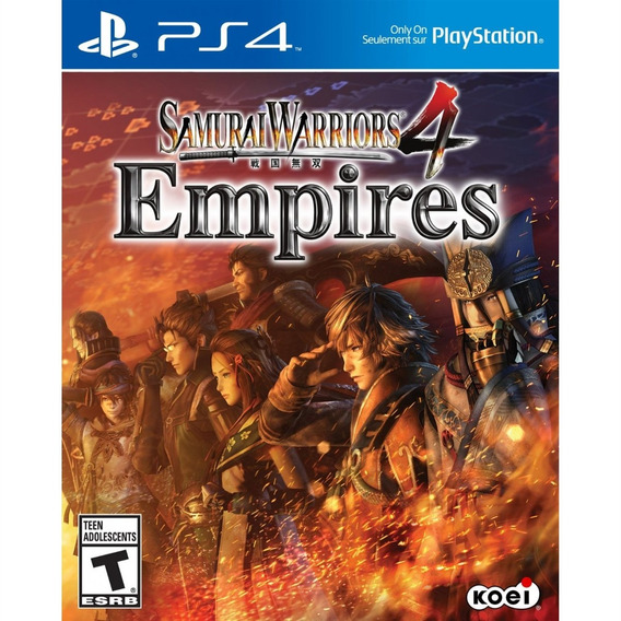Samurai Warriors 4: Empires - Ps4 - Mídia Física - Lacrado
