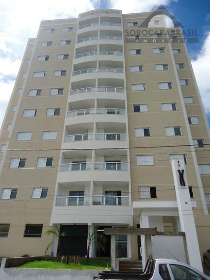 Apartamento À Venda, Jardim Gonçalves, Edifício Costa Almeida Em Sorocaba-sp, 2 Vagas De Garagem, 3 Dormitórios, Área Útil 87m². - Ap0054