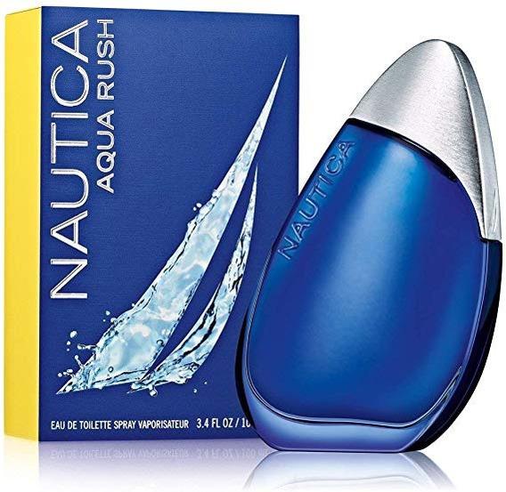 Nautica Eau De Toilette Aqua Rush Para Hombre 3.4 Oz