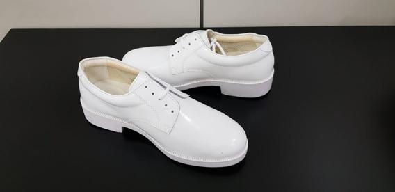 Sapato Masculino Branco Social Modelo Marinha