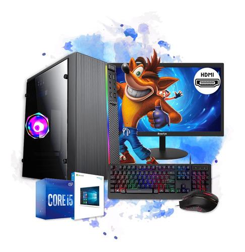 Imagem 1 de 5 de Pc Gamer Completo I5 8gb Hd 500gb Placa De Video Monitor