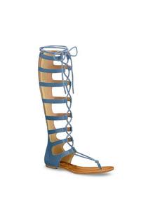 Sandalia Thong Color Azul Mod. 254-3666