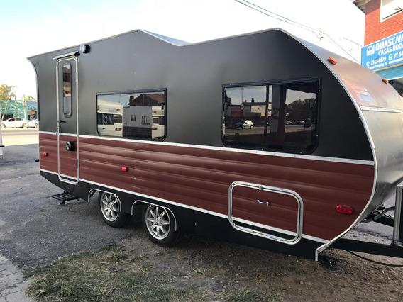 Casa Rodante Mini Sport 480 | Lomas Camping - Luis Guillón