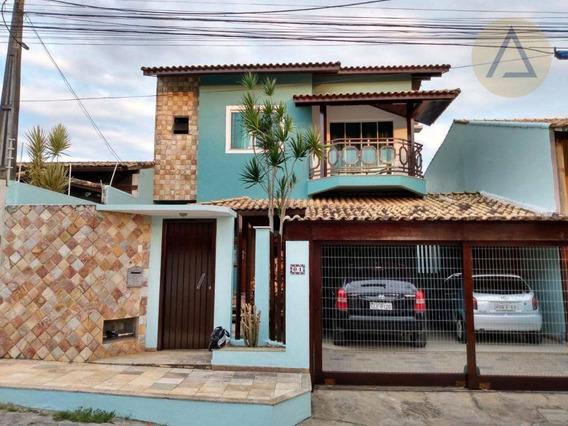 Casa Com 4 Dormitórios À Venda Por R$ 590.000,00 - Granja Dos Cavaleiros - Macaé/rj - Ca0782