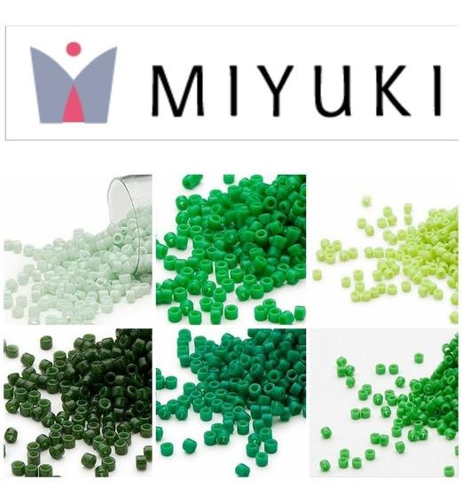 Delica Miyuki 10 Tubos Japonesa 0/11 Envio 3-4 Días