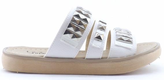 Sandalia Dama Mujer Zuecos Tachas Plataforma Verano 400