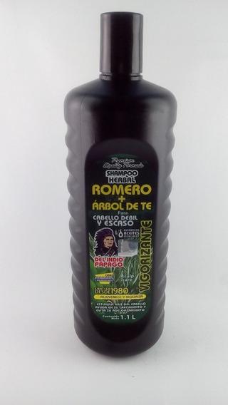 Shampoo Arbol De Te Romero Arginina Indio Papago