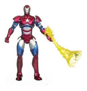 Muñeco Marvel Universe Iron Man Patriot Articulado Hasbro