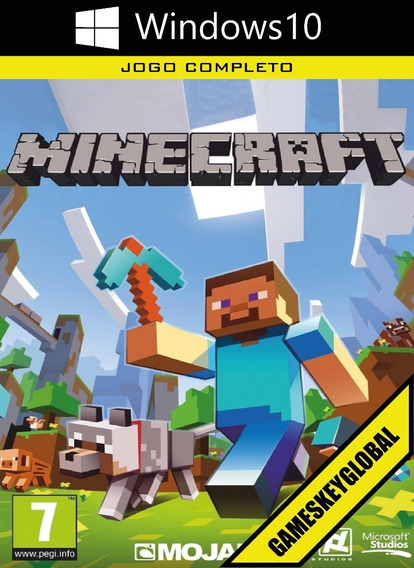 Minecraft Windows 10 Edition (original Microsoft Key Chave)